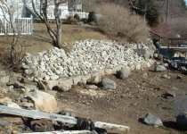Card Revetment, Cape Porpoise
