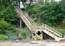 Gehrke Access Stairs, Falmouth